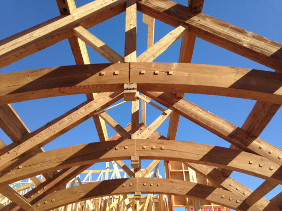 recycled beams timber frame craft