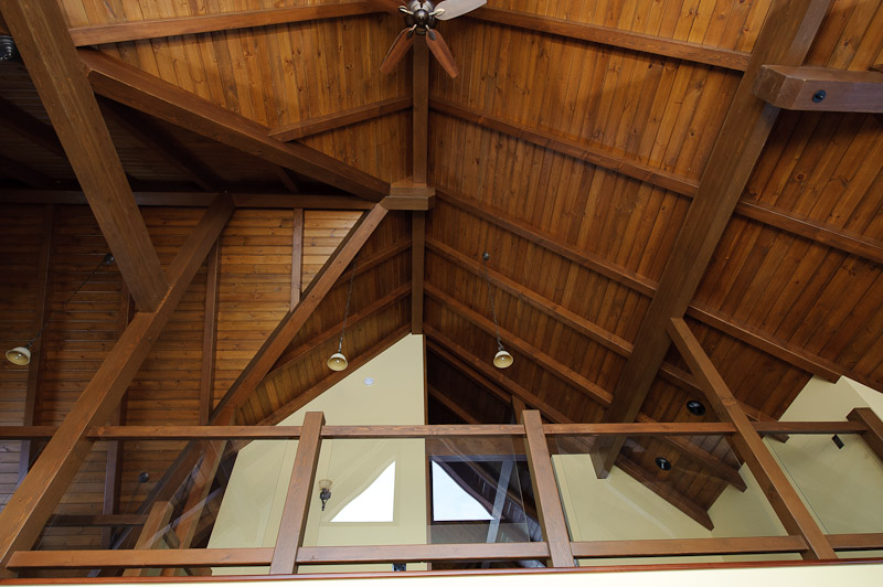 beautiful bc timber ceiling