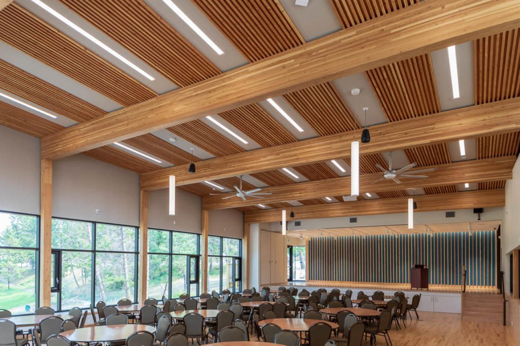 Radium Community Centre With Dowel Laminated Timber  Dlt