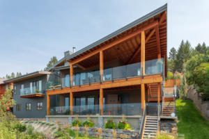Golden BC Timberframe architecture