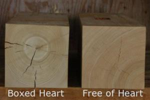 free of heart timber