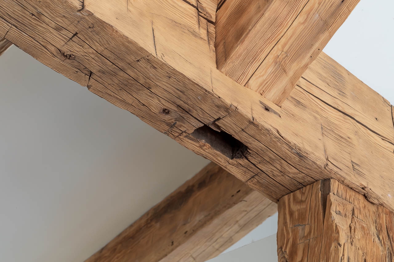 old recycled timbers