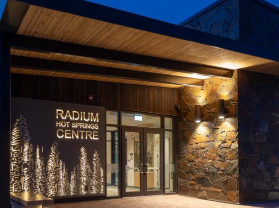 dlt radium community centre