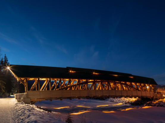 timber structure bridge bc