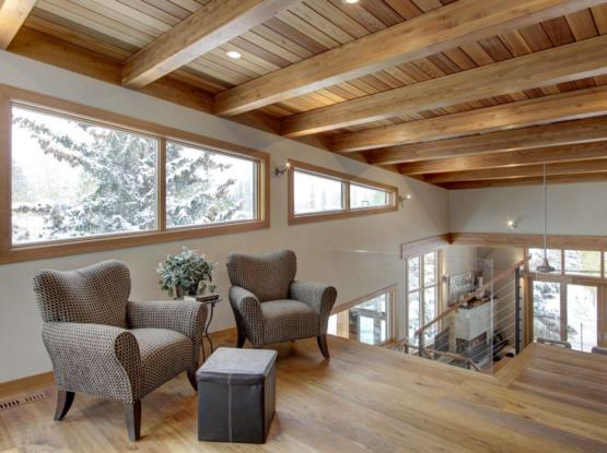 natural full timber reading room