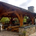 timber gazebo in calgary