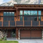 modern heavy timber mountain living